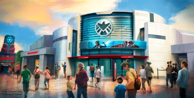 Hong Kong Disneyland Releases New Details on Ant-Man and the Wasp Shooter