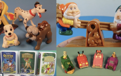 These Old School Disney Happy Meal Toys are Sure to Bring Back Some Childhood Memories