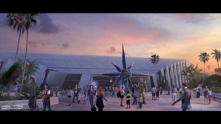 Guardians of the Galaxy Attraction to be One of The Longest Enclosed Roller Coaster in the World