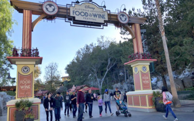 Disneyland Resort Update: DCA Food & Wine Festival Begins, Tram Route Construction, and More