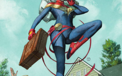 "Marvel Announces ""The Life of Captain Marvel"""