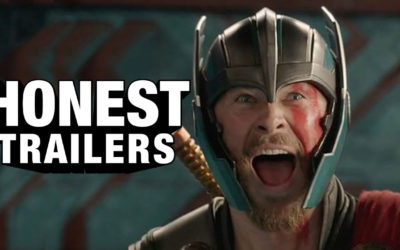 """Thor: Ragnarok"" Gets the Honest Trailer Treatment"