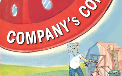 """Children's Book Review: """"Company's Coming"""" & """"Company's Going"""" by Arthur Yorinks"""