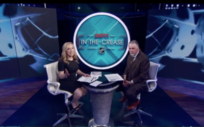 "ESPN+ Debuts Nightly Hockey Show, ""In the Crease"""