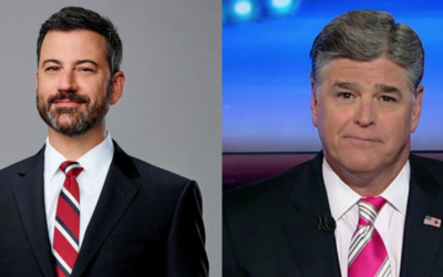 Fox News Host Sean Hannity Takes Aim at ABC's Jimmy Kimmel