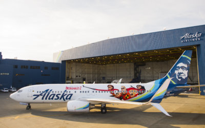 Alaska Airlines Incredibles 2 Plane Debuts