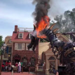 Magic Kingdom Parade Float Catches Fire