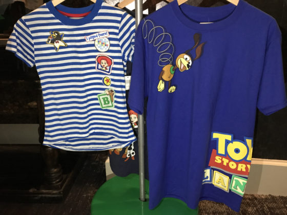 Toy Story Land merchandise