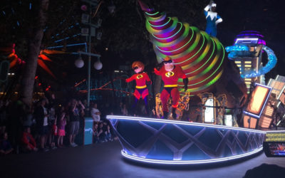 Paint the Night Parade Adds Incredibles Float