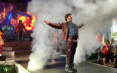 Video: Guardians of the Galaxy Awesome Mix Live! Debuts