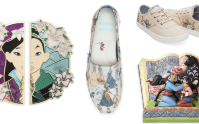 shopDisney Debuts TOMS Collection and Mulan 20th Anniversary