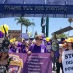 Union Workers Protest Wages at Disneyland Entrance