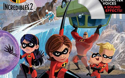 Book Review: Incredibles 2 Read-Along Storybook and CD