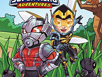 Children's Book Review - Marvel Super Hero Adventures: Meet Ant-Man and the Wasp (World of Reading Level 1)