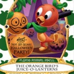 Event-Exclusive Orange Bird Spell Card Debuts at Mickey's Not-So-Scary Halloween Party