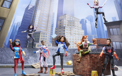 """Hasbro's Heroic """"Marvel Rising"""" Doll Collection Debuts this October"""