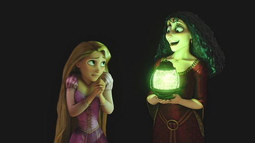 Mother Gothel tells Rapunzel about the horrors of the real world. Which of these is not mentioned?