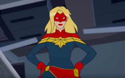 """New """"Marvel Rising: Secret Warriors"""" Featurette Answers the Question 'Who is Captain Marvel?'"""