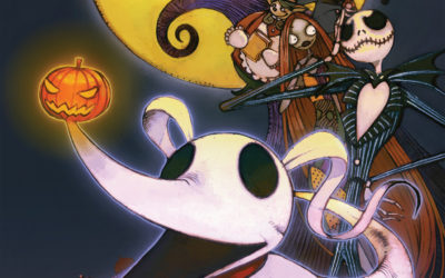 "Review - ""Tim Burton's The Nightmare Before Christmas: Zero's Journey"" Book One"