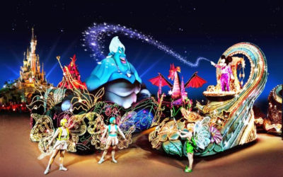 Disney Extinct Attractions: Fantillusion and Disney Cinema Parade