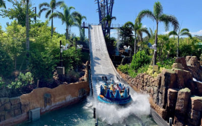 SeaWorld Orlando is Home of the World's Tallest River Rapid Attraction