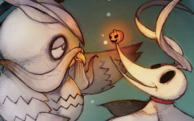 "TokyoPop Releases ""The Nightmare Before Christmas: Zero's Journey"" Graphic Novel"