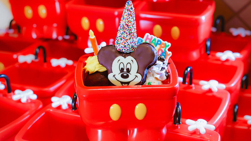 Excellent Disney Resorts Celebrate Mickeys 90Th Birthday With Terrific Treats Funny Birthday Cards Online Chimdamsfinfo