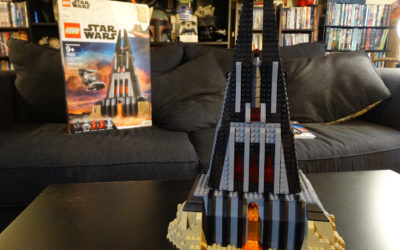 "Video Review: LEGO ""Star Wars"" Darth Vader's Castle Recreates Eerie Location from ""Rogue One"""