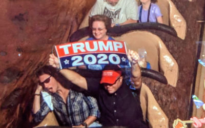 Man Banned From WDW Again After Caught Holding Trump Sign