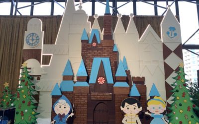 2018 Contemporary Resort Gingerbread Display Celebrating Cinderella Debuts