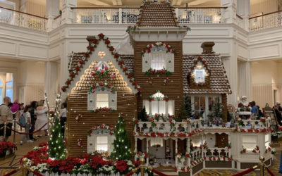 Disney's Grand Floridan Gingerbread House Celebrates 20th Anniversary