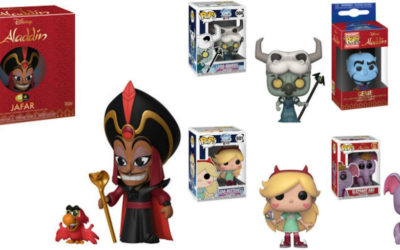 """Funko Reveals """"Aladdin"""" and """"Star vs. The Forces of Evil"""" POP! Figures"""