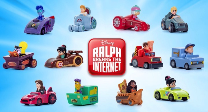 Ralph Breaks the Internet McDonalds Happy Meal