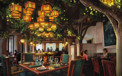 Menu Revealed for Storybook Dining at Artist Point with Snow White