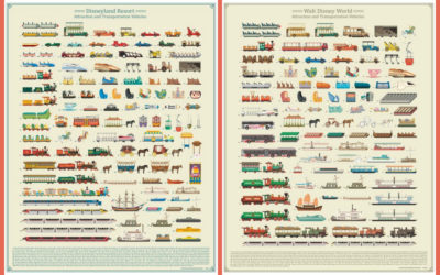 Our Family Loves These Disney Ride Vehicle Posters