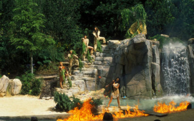Disney Extinct Attractions: Pocahontas le Spectacle and Tarzan: The Encounter