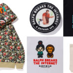Disney's Ralph Breaks the Internet x BAPE Collection Debuts