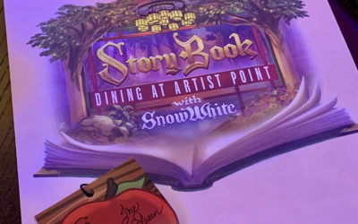 Dining Review: Storybook Dining with Snow White at Artist Point