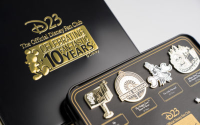D23 Announces Their 2019 Gold Member Gift Celebrating 10th Anniversary