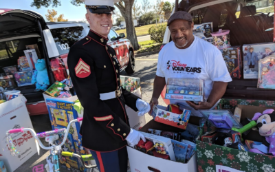 Disney VoluntEARS and Toys for Tots Deliver for Central Florida Children