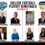 ESPN Plans Extensive New Year's Six Presentation for CFP Semifinals