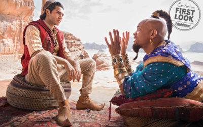 "EW Shares First Look at Disney's Live-Action ""Aladdin"""