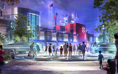 New Concept Art for Marvel-Themed Lands at Disney Parks Released