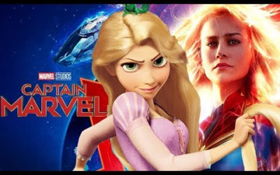 YouTube Video Reimagines Rapunzel as Captain Marvel in Delightful Mashup