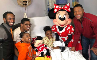 8-Year-Old Transplant Recipient Gets Surprise Visit From Minnie Mouse and a Trip to Walt Disney World