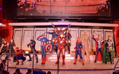 Recapping Marvel Day at Sea Aboard the Disney Magic