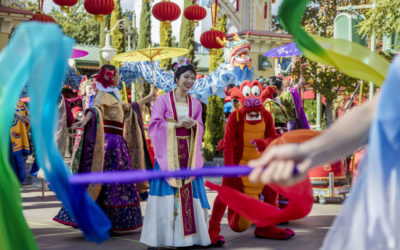 Disney Shares New Details for 2019 Lunar New Year Celebration