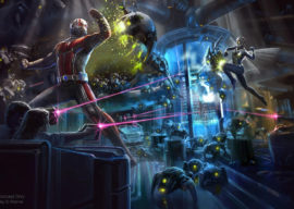 Hong Kong Disneyland Announces Opening Date for Ant-Man and the Wasp: Nano Battle! Attraction