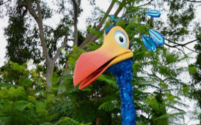 "Kevin from ""Up!"" is Making Her Way to Disney's Animal Kingdom"