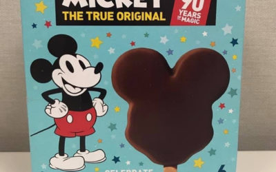 Limited Edition Mickey Ice Cream Bars Coming to Grocery Stores in February